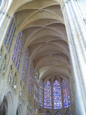 France 2009 Cathedral Ceiling and Windows